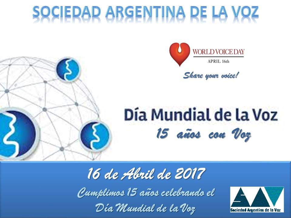 Dia Mundial de la Voz 2017